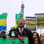 Gabon's Ping urges security forces to defect