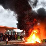 Guards set fire to tires, block gates to 18 prisons in France after 'terror attack'