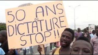 Manifestation De la Diaspora Togolaise  Contre 50ans de Dictature