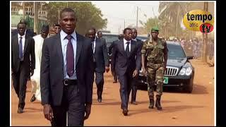 Togo- Faure préside un conseil de ministres sous des tentes