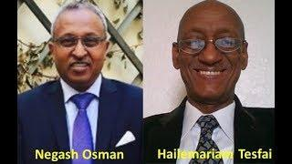 Coalition Building - Negash Osman & Hailemariam Tesfai,  Discussion In Search for Common Ground