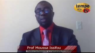 Togo -  Marche du 13 Avril, le Professeur Mobilise