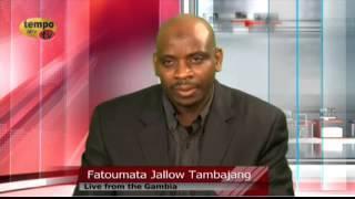 Tempo Afric TV -INSIGHT AFRICA GUEST FATOUMATA JALLOW TAMBAJANG