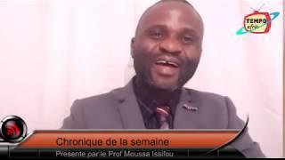 Élections 2020: Oumolou dénonce l'égoïsme des candidats