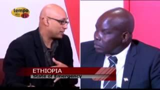 Tempo Afric TV - ETHIOPIA - STATE OF EMERGENCY Guest Mr Obang Metho