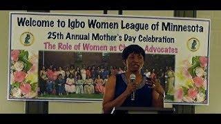 Igbo Women League of Minnesota  2019 Silver Jubilee Celebration Keynote Speaker: Nkem DenChukwu