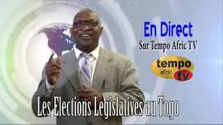 TOGO Legislative - Grande Nuit Electorale Sur Tempo Afric TV Le 20 Dec a 20H