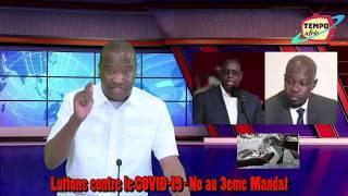 Luttons contre le COVID-19 - No au 3eme Mandat pour Macky