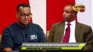 Somaliland USA prog Gubernatorial candidates Tim Walz vs. Jeff Johnson
