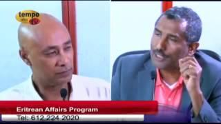 Tempo Afric TV - DIALOGUE IN ERITREAN SOCIETY