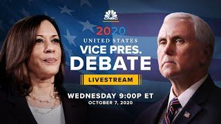 Mike Pence and Kamala Harris face off in the only vice presidential debate — 10/7/2020