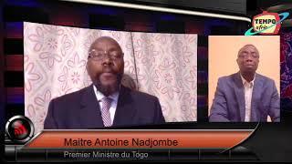 Breaking News: Premier sortie de Maitre Antoine Nadjombe 1er Ministre D'Agbeome sur TEMPO AFRIC TV