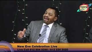 CIM USA and Black Ties at Tempo Afric TV for the new year Eve 2020