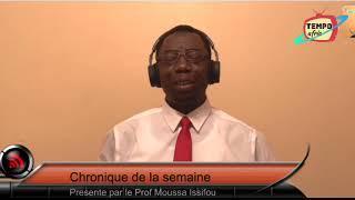 Tiken Jah Fakoly Soutient la lutte du peuple Togolais