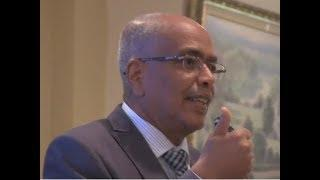 Ato Yohannes F. Drar on Mental Health and Eritreans In Diaspora