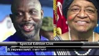 LIBERIA GEORGE WEAH DU FOOTBALLEUR AU PRESIDENT une rupture avec la tradition politique africaine