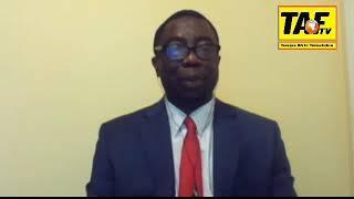 TOGO - Marche du 13: Le professeur en parle avec Mr Doe des Patriotes Togolais