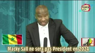 Le President Ousmane Sonko Frappe Fort: Macky Sall Ne sera Plus President Apres 2024