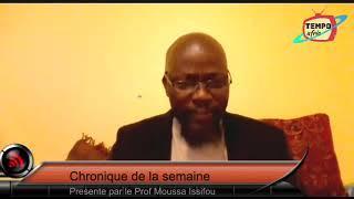 Nadjombe et le professeur disent NON au 4e MANDAT DE FAURE