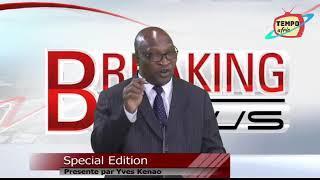 Guinee: Collere des populations contre le 3eme mandat president Conde: