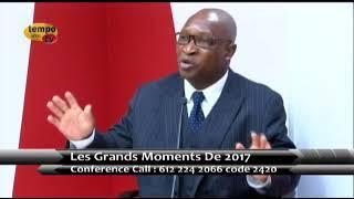 LES GRANDS MOMENTS POLITIQUES DU TOGO EN 2017 AVEC LE PASTEUR ADOLPH DEGAN