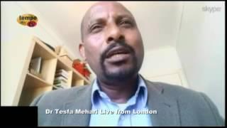 Tempo Afric TV - Asmara University -  pre and post independence, Conversation with Dr. Tesfa Mehari