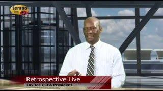 Tempo Afric TV - RETROSPECTIVE GUEST CCFA PRESIDENT