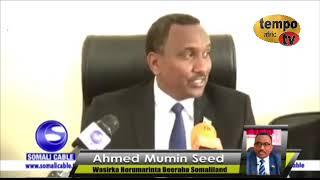 Executive Interview with the Minister of Development of Agriculture of Somaliland Republic