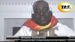 Benin - L' Honorable Souleyman Arouna s'addresse au President Talon.