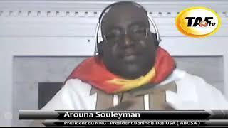 Benin - L' Honorable Souleyman Arouna s'addresse au President Talon.