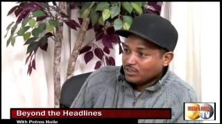 Tempo Afric TV - BEYOND THE HEADLINES GUEST  Ghebre (GG) AND Gidewon -PETROS(1)